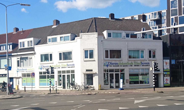 Dierenziekenhuis Eindhoven locatie gebouw