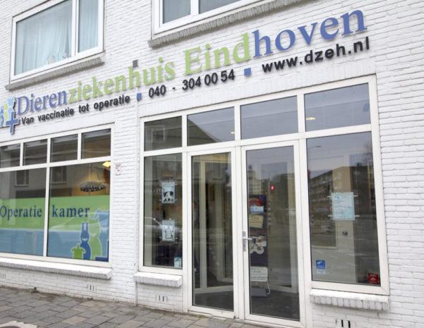 Dierenziekenhuis Eindhoven gebouw