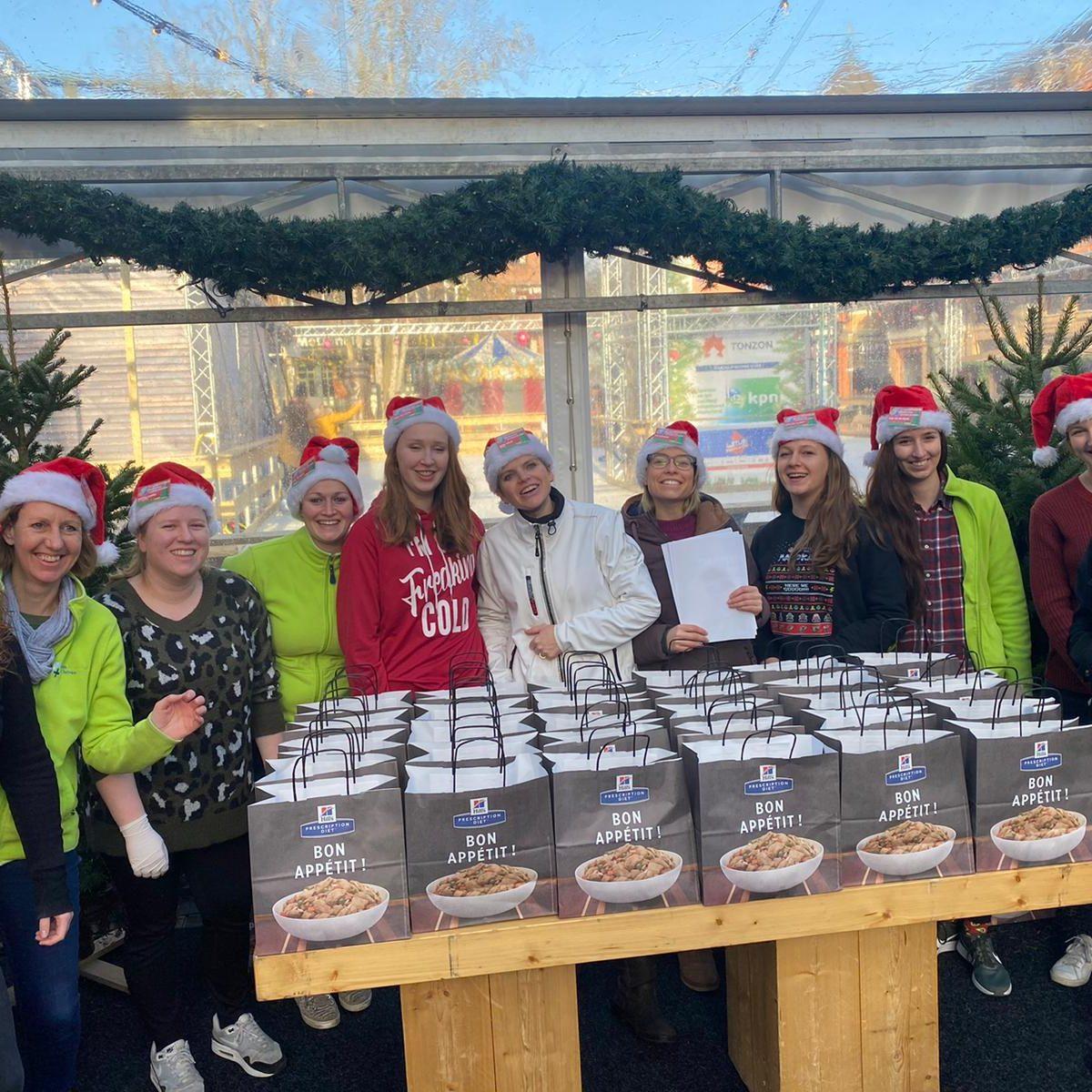 kerstdiner honden Dierenziekenhuis Eindhoven
