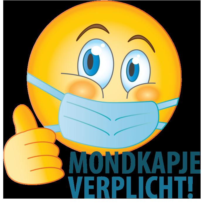 Download de gratis Mondkapje Verplicht Emoji